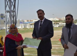 Token of Appreciation Awarded to Humera Manzoor - College Section for Computer