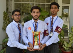 Winner of Quiz Competition Held at Bahria College Karsaz